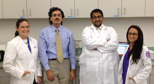 Dr. Mutasem Qalaji's Research Team