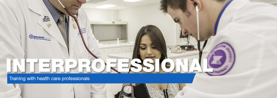 Interprofessional - Training with health care professionals