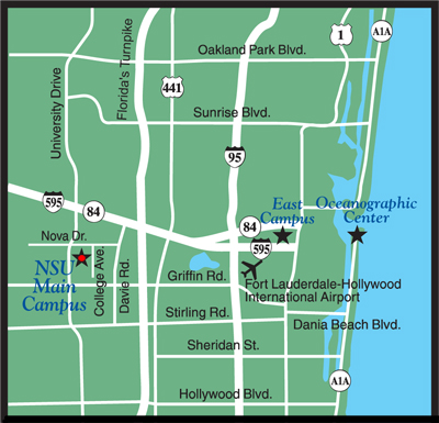 Ce Map And Directions Nsu College Of Pharmacy