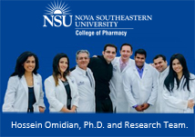 Hossein Omidian, Ph.D. and the Research Team
