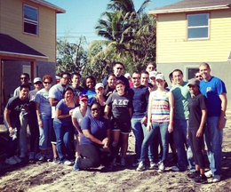 AZO participating in Habitat for Humanity