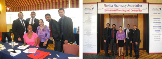 COP Advance Standing Class of 2015 Students Won 2nd place for their poster presentation at the Florida Pharmacy Association 124th Annual Meeting and Convention