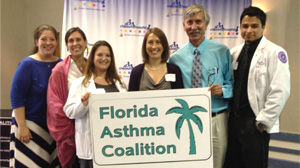 COP involvement as Mentor Partners in Asthma-Friendly Childcare Center Training Program with Florida Department of Health