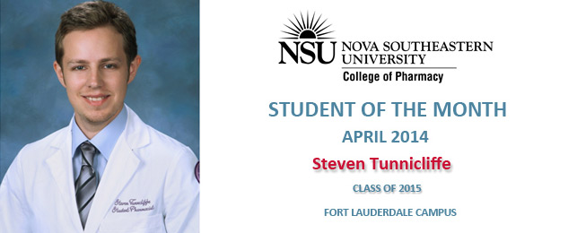 Nursing Programs In Florida >> NSU College of Pharmacy - Student of the Month
